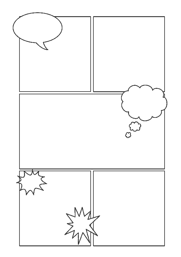 Comic Strip Templates - from Picklebums.com